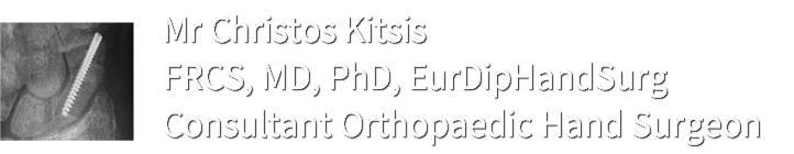 Christos Kitsis' official Hand Surgery website